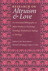 Research On Altruism   Love PDF