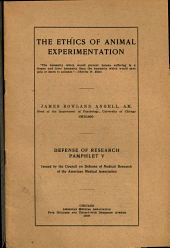 The Ethics of Animal Experimentation