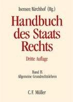 Handbuch des Staatsrechts der Bundesrepublik Deutschland PDF