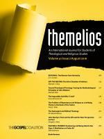 Themelios  Volume 41  Issue 2 PDF