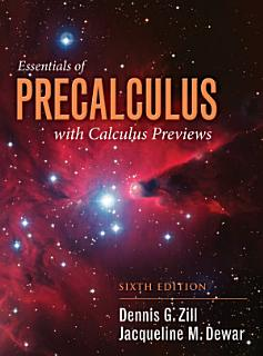 Essentials of Precalculus with Calculus Previews Book