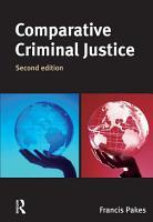 Comparative Criminal Justice PDF