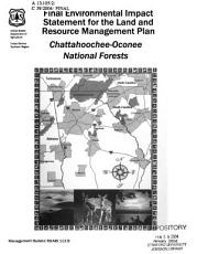 National Forests  Chattahoochee Oconee  Final Environmental Impact Statement for the Land and Resource Management Plan  January 2004 PDF