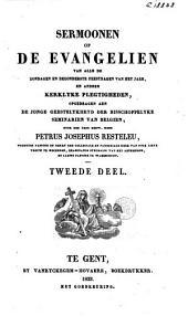 Sermoonen op de evangelien van alle de zondagen en bezonderste feestdagen van het jaer, en andere kerklyke plegtigheden, opgedragen aen de jonge geestelykheyd der bisschoppelyke seminarien van Belgien: Volume 2