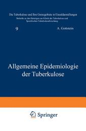 Allgemeine Epidemiologie der Tuberkulose