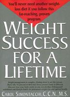 Weight Success for a Lifetime PDF
