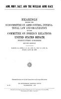 ABM  MIRV  SALT and the Nuclear Arms Race PDF