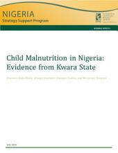Child malnutrition in Nigeria: Evidence from Kwara State