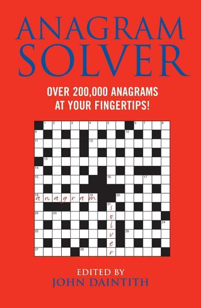 Download Anagram Solver Book