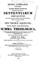 Petri Lombardi Sententiarum libri quatuor: Volume 4