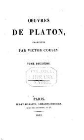 Oeuvres de Platon: Volume2