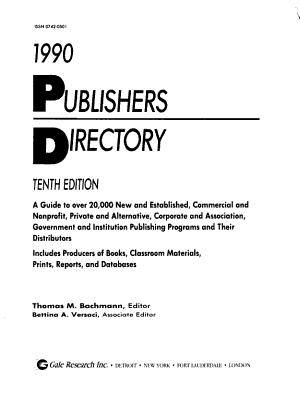 Publishers Directory PDF