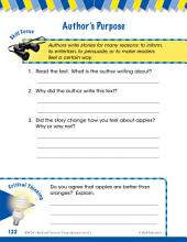 Read & Succeed Comprehension Level 1: Author's Purpose Passages and Questions