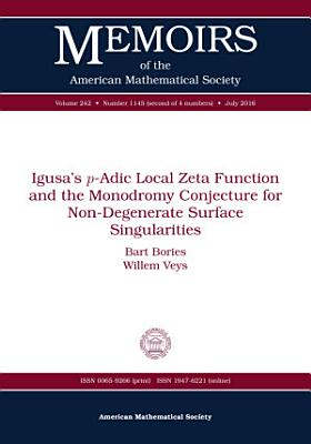 Igusa s  p  Adic Local Zeta Function and the Monodromy Conjecture for Non Degenerate Surface Singularities
