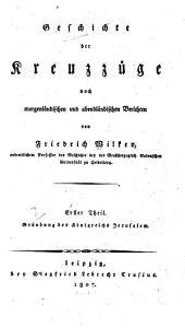 Geschichte der Kreuzzüge ....