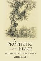 A Prophetic Peace PDF