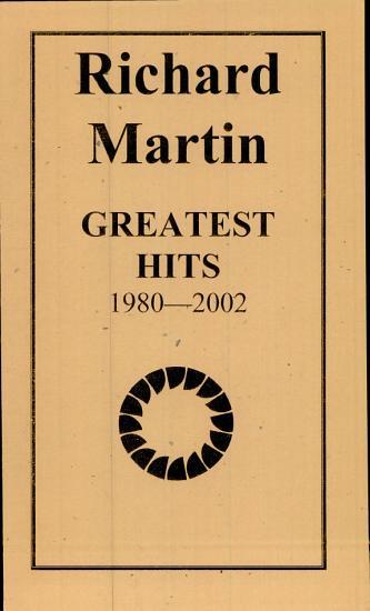 Richard Martin Greatest Hits PDF