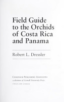 Field Guide to the Orchids of Costa Rica and Panama PDF