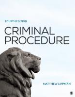 Criminal Procedure PDF
