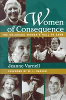 Women of Consequence PDF