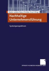 Nachhaltige Unternehmensführung: Systemperspektiven
