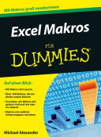 Excel Makros programmieren f  r Dummies PDF