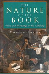 The Nature Of The Book Book PDF