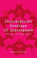 Philosophical Readings of Shakespeare PDF