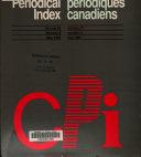 Index de P  riodiques Canadiens PDF