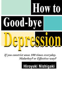 How to Good-Bye Depression