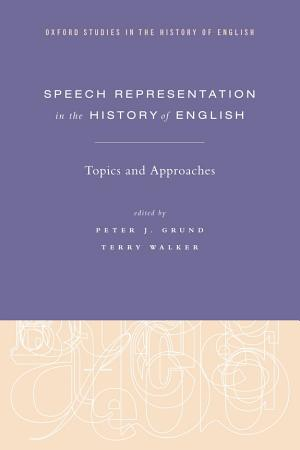 Speech Representation in the History of English PDF