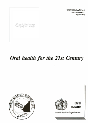 Oral Health for the 21st Century PDF