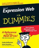 Microsoft Expression Web For Dummies PDF