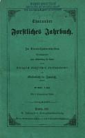 Tharandter forstliches Jahrbuch PDF