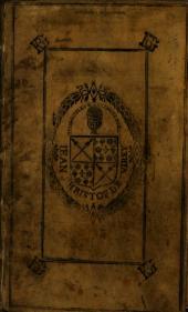 Anthologia diaphoron epigrammaton palaion eis hepta biblia dieremene