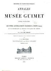 Annales du Musée Guimet: Volumes11à12