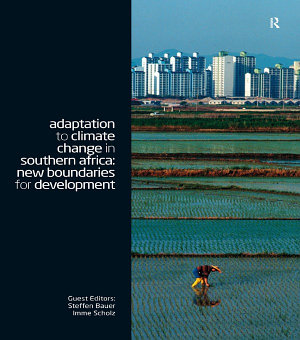 Adaptation to Climate Change in Southern Africa PDF