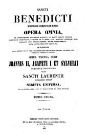 Sancti Benedicti monachorum occidentalium patris opera omnia...