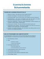 E Learning f  r Dummies PDF