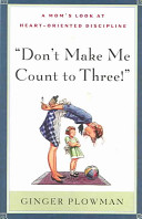 Don t Make Me Count to Three