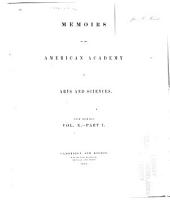 Memoirs of the American Academy of Arts and Sciences PDF