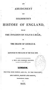 An Abridgment of Goldsmith's history of England