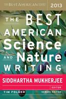 The Best American Science and Nature Writing 2013 PDF