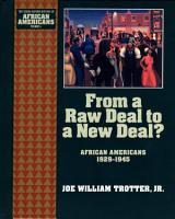 From a Raw Deal to a New Deal PDF