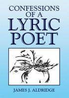 Confessions of a Lyric Poet PDF