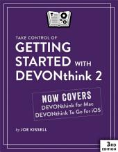 Take Control of Getting Started with DEVONthink 2: Edition 3