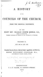 A History of the Councils of the Church: A.D. 326 to A.D. 429