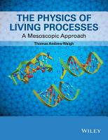 The Physics of Living Processes PDF