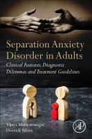 Separation Anxiety Disorder in Adults PDF