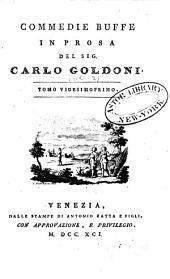 Opere teatrali del Sig. avvocato Carlo Goldoni, Veneziano: con rami allusivi, Volume 21